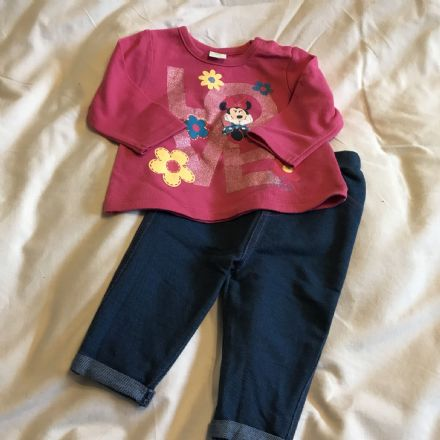 6- Month Minnie Jeggings and Top